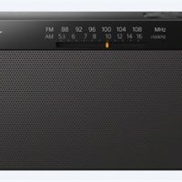 Sony Radio med backup-batteri